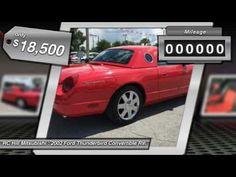 2002 Ford Thunderbird DeLand Daytona Orlando 2Y110579