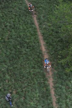 Nino Schurter just behind Absalon during the Transvésubienne, South of France extreme MTB Marathon http://WhatIsTheBestMountainBike.com
