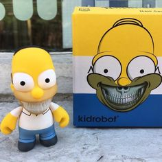 Back with another Daily Deal. You automatically get 25% off Homer Grin from Ron English X Kidrobot when you shop online or in-store. A must have for your Simpsons vinyl toy collection!  #homer #homersimpson #doh #kidrobot #ronenglish #homergrin  #arttoys #arttoy #vinyltoy #vinyltoys #designertoys #desgnertoy #designer #designers #art #vinyl #toy #toys #collectibles #collectible #markham #mindzai #toronto #dailydeal