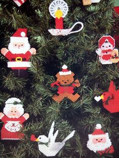 This a plastic canvas pattern book only. It is not a kit or a completed project. The book is from 1986 by Dick Martin. It has 14 pages. It has some shelf wear but overall it is in good used condition.    Table Of Contents: Snowman & Snow Woman  Santa & Mrs. Claus  Santa Basket & Bear Basket  Teddy Bear  Noel Door Decoration  Santa Caddy  Nativity  Tree Top Angel  Bird  Candle  Tissue Box Cover    It will be shipped first class USPS with tracking in a rigid mailer. First class international…