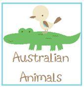 Australian Animals Kindergarten Kit