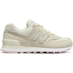 New Balance 574 Shattered Pearl Women's 574 Shoes (€67) ❤ liked on Polyvore featuring shoes, new balance shoes, new balance, pearl shoes and new balance footwear