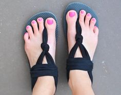 How to transform your old flip flops into cute and comfy sandals - GirlsLife
