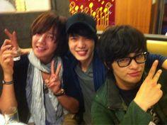 Jang Keun Suk ~~ with Love Rain co-stars