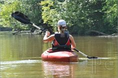This could totally be me kayaking on the lovely Susquehanna!
