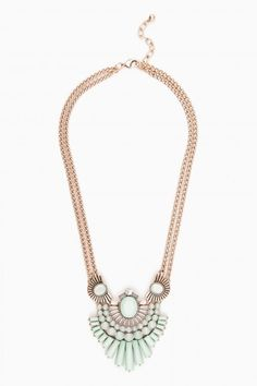 Alda Necklace in Mint