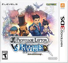 Professor Layton vs Phoenix Wright Ace Attorney, pre-order.  $31.99.  Was $40 previously.