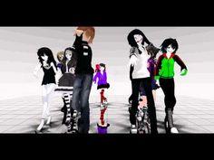 MMD Creepypasta dance - YouTube