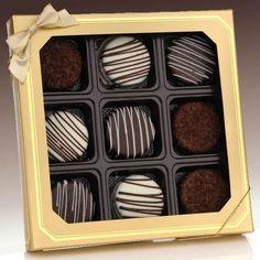 A Chocolate Dipped Oreo Cookies Boyfriend Gift Box