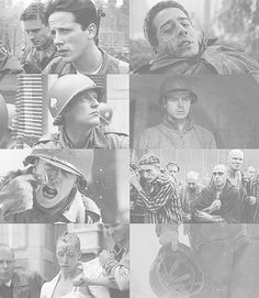 Band of Brothers- AKA one of the most heart wrenching things you could ever watch
