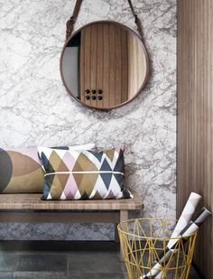 Geometric. #interior #design #pillows