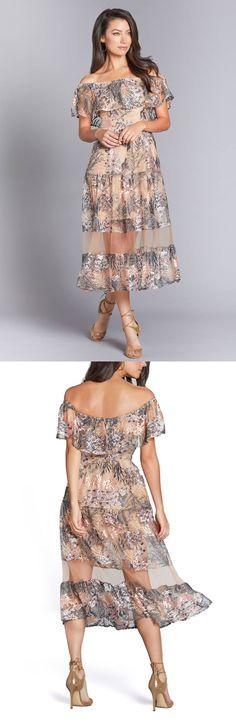 Gabriella Off the Shoulder Dress by Dress the Population  Dresses   Casual Dress   Fashion Dresses  #dress #fashion #style #womensfashion