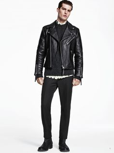 H&M Goes Dark for Fall 2014 image HandM Fall 2014 Look Book Paolo Anchisi 001