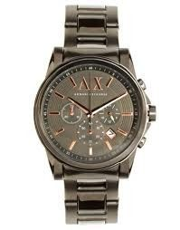 loving this handsome gent's wristwatch | armani exchange AX 2086 | only $159.00 | buyaWatch