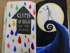 Climb up high drop the journal. Jack Skeleton from wreck this journal