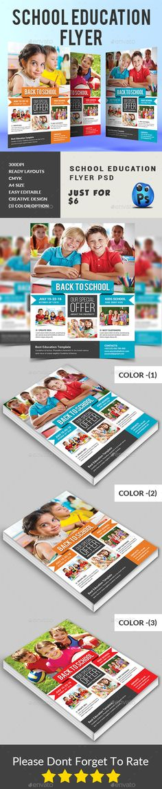 Junior School Admission Flyer Template School admissions, Flyer - daycare flyer