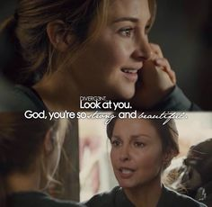 tris and her mom, this made me cry #insurgent
