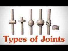 The 6 Types of Joints - Human Anatomy for Artists - YouTube https://www.youtube.com/watch?v=0cYal_hitz4