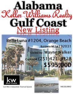 New Condo Listing in Orange Beach, AL by Wayne Walker