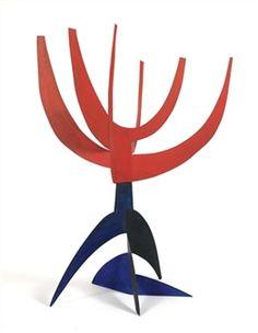 Artichaut By Alexander Calder ,1972
