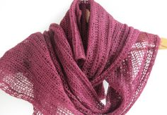 Valentines day gift / Scarf - Handmade burgundy color  Infinity Scarf / Christmas gift on Etsy, $39.00