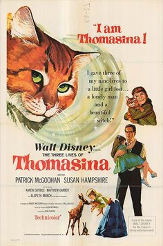 The Three Lives of Thomasina (1964) - It must've been the only movie my elementary school could afford to rent because they made us watch it every year at Christmas.