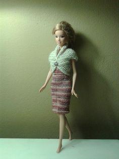 Barbie's Bolero Knits, Barbie, Knitting, Jackets, Vintage, Style, Fashion, Down Jackets, Moda
