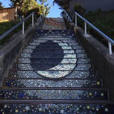 Mosaic Stairs, Grand View Pk  San Francisco