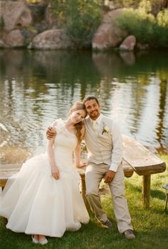 Casamento bonito Lakeside e1347226446352 Michelle Cruz