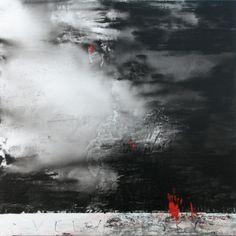 Keren Seelander Australian, b.1957 Velvet Sky 2009 mixed media on canvas
