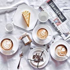 The marriage of coffee and cakes is a pretty good one.