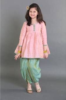 SALE upto 30 % OFF on saka designs ! Update your baby's wardrobe with the best of ethnic outfits! ready to working days COD - available whats app at - 09294000000 Indian Dresses For Girls, Kids Indian Wear, Kids Ethnic Wear, Girls Dresses Sewing, Stylish Dresses For Girls, Dresses Kids Girl, Indian Clothes For Kids, Girls Frock Design, Baby Dress Design
