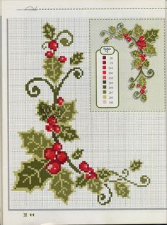 Thrilling Designing Your Own Cross Stitch Embroidery Patterns Ideas. Exhilarating Designing Your Own Cross Stitch Embroidery Patterns Ideas. Xmas Cross Stitch, Cross Stitch Borders, Cross Stitch Flowers, Cross Stitch Charts, Cross Stitch Designs, Cross Stitching, Cross Stitch Embroidery, Cross Stitch Patterns, Theme Noel