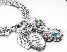 Children's Birthstone Bracelet for Mom or Grandma