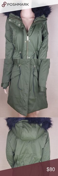 H.M Jacket Top Outwear Parka Hooded Army Green 8 This items never wear before. H.M Jackets & Coats Puffers