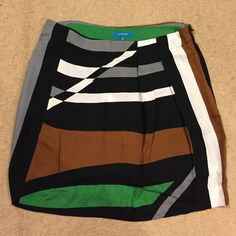 Derek lam colorful striped skirt Fun, light skirt with pockets and side zip. Derek Lam Skirts