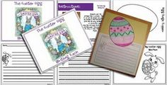 Classroom Freebies: Easter Egg Writing Pack