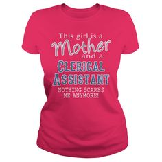 Awesome Tee For Clerical Assistant T-Shirts, Hoodies. Check Price Now ==►…