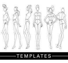 DRAWING | Print Out Tracing Templates And Showcase Your Collection - Fashion Finishing School