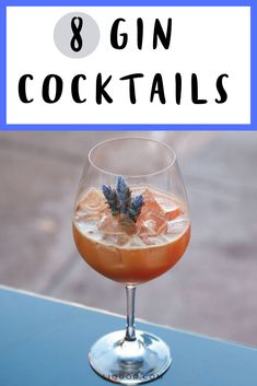 These refreshing gin cocktails are perfect for spring. Find your new favorite, there's something for everyone. Easy Gin Cocktails, Spring Cocktails, Classic Cocktails, Gin Drink Recipes, Best Cocktail Recipes, Diet Recipes, Healthy Recipes, Party Drinks, Fun Drinks