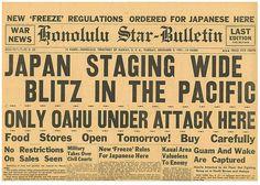 Pearl harbour Japan staging Blitz Manila Guam December 9 1941 honolulu Star PWD