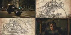 Batman:+The+Dark+Knight+–+Storyboard+to+Film+Comparison