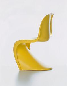 Panton Chair by : Ludwig Mies van der Rohe