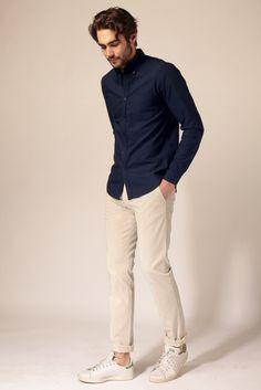 Pantalon Beige Clair