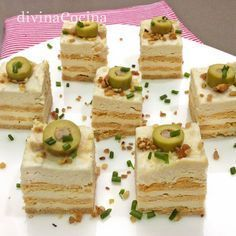 You searched for Canapes - Divina Cocina Party Snacks, Appetizers For Party, Appetizer Recipes, Tasty, Yummy Food, Food Decoration, Mini Foods, Appetisers, Kitchen Recipes