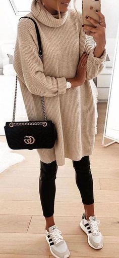 koreanische mode-outfits 884 fashion 25 Fashion Outfits Super Style Casual Outfits 2019 Very Nice The post koreanische mode-outfits 884 appeared first on Mode Frauen. Warm Outfits, Winter Fashion Outfits, Casual Fall Outfits, Mode Outfits, Sweater Fashion, Trendy Outfits, Long Sweater Outfits, Autumn Casual, Spring Outfits