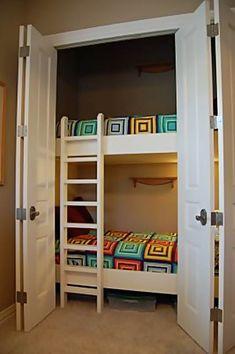 Literas en armario