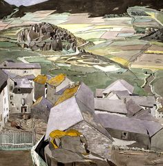The Village of La Lagonne / Charles Rennie Mackintosh