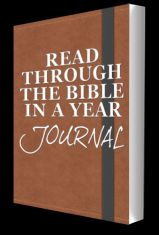 I developed the Read Through the Bible in a Year Journal to help keep the goal of completing the Bible fresh and obtainable. Nothing takes the place of actually reading the Bible, but I think the journal serves as a great tool to keep the challenge, motivation, and goal of completion fresh, throughout the year.