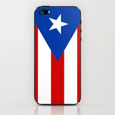 Puerto Rico iPhone & iPod Skin by McGrathDesigns - $15.00